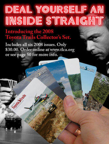 2008 Toyota Trails Back Issues Ad
