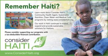 Consider Haiti Non Profit Ad