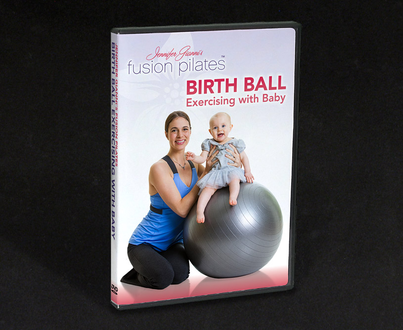 Fusion Pilates Birth Ball Excercising With Baby DVDs