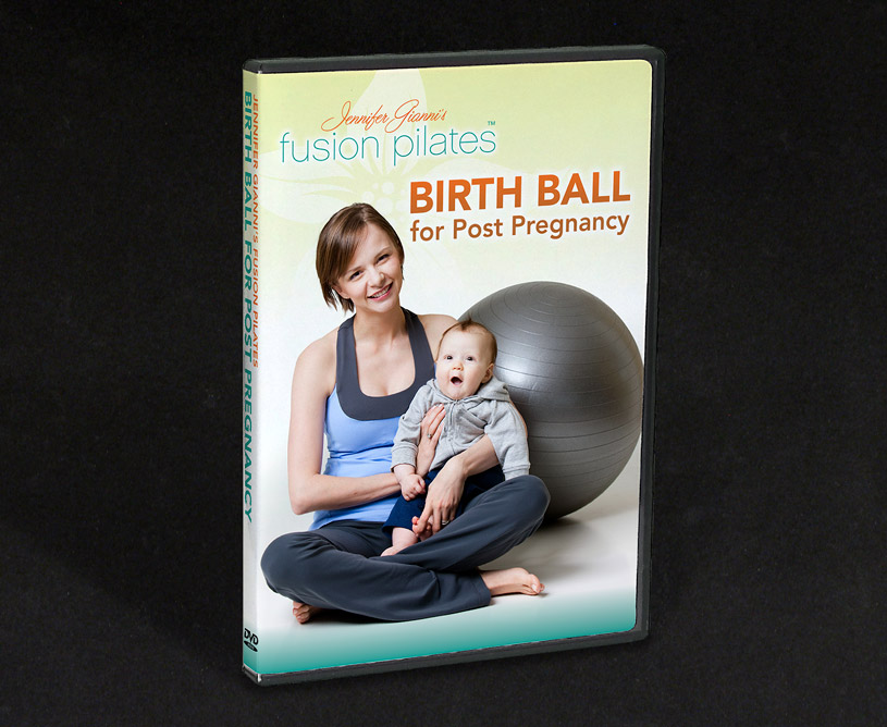 Fusion Pilates Birth Ball Post Pregnancy DVD