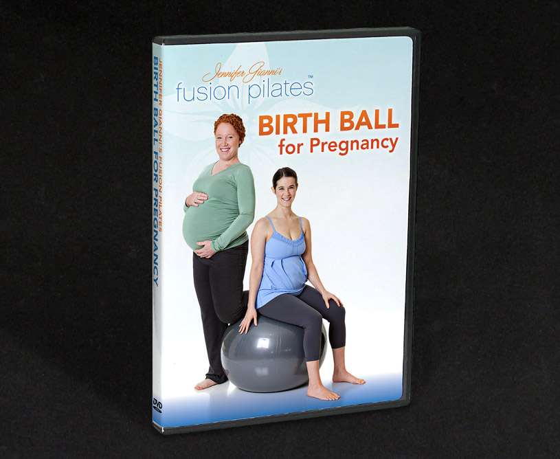 Fusion Pilates Birth Ball For Pregnancy DVD