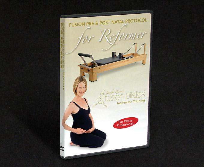 Fusion Pilates Instructor Training Reformer DVD