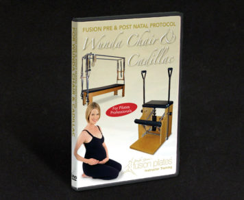 Fusion Pilates Instructor Training Wunda Cadillac DVD
