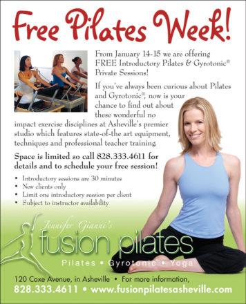 Jen Gianni Pilates Free Pilates Week Ad