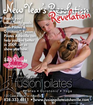 Jen Gianni Pilates New Years Ad V2