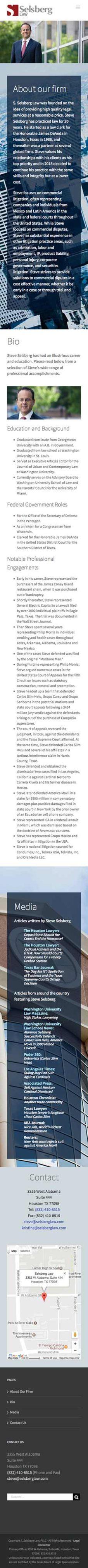 Steve Selsberg Law Mobile