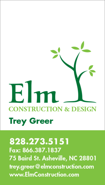 Elm Business Card Design