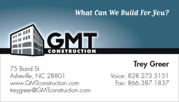 GMT Business Card Design