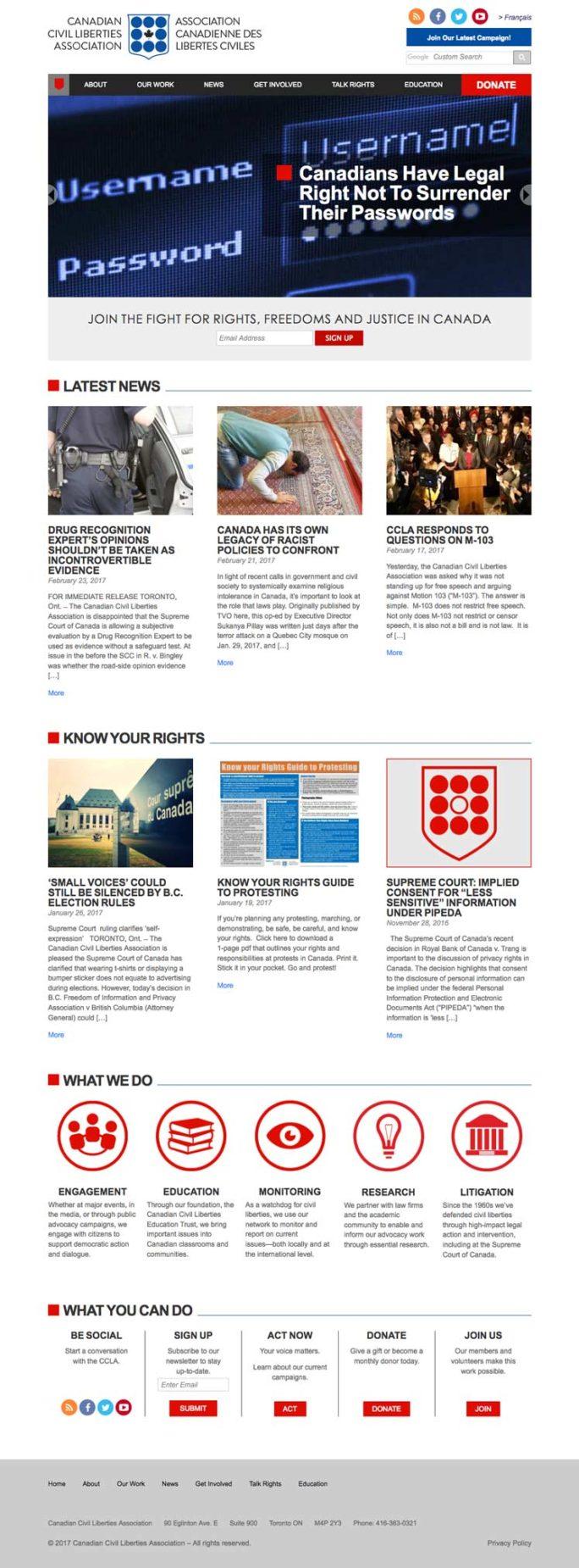 Ccla Website Design Notebook