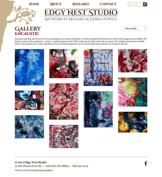 Edgynest Website Design Notebook 02