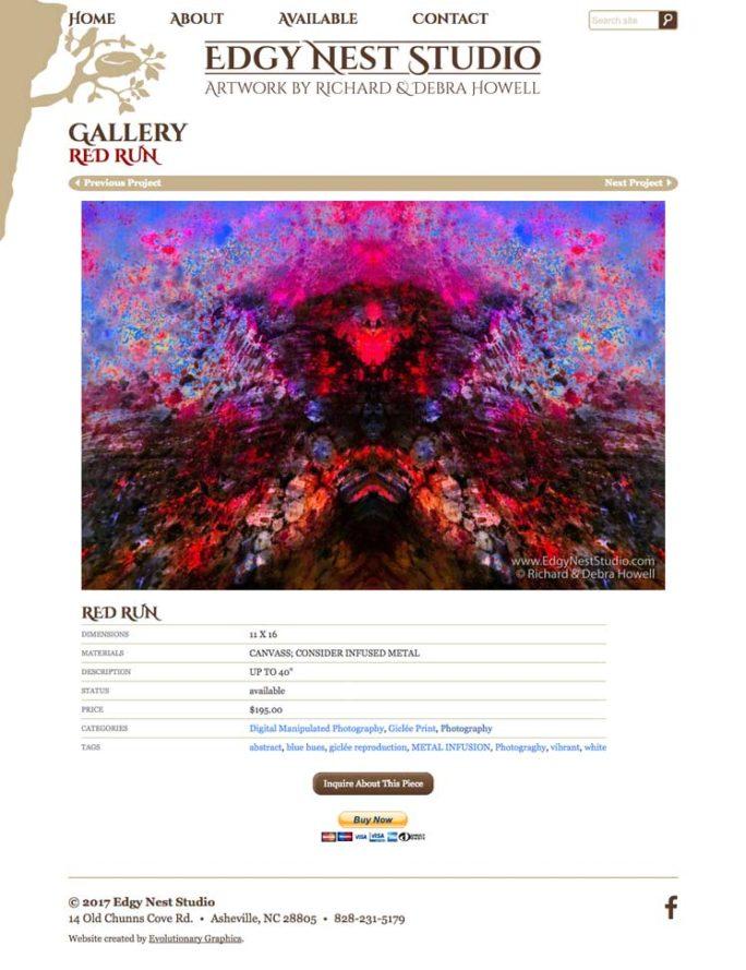 Edgynest Website Design Notebook 03
