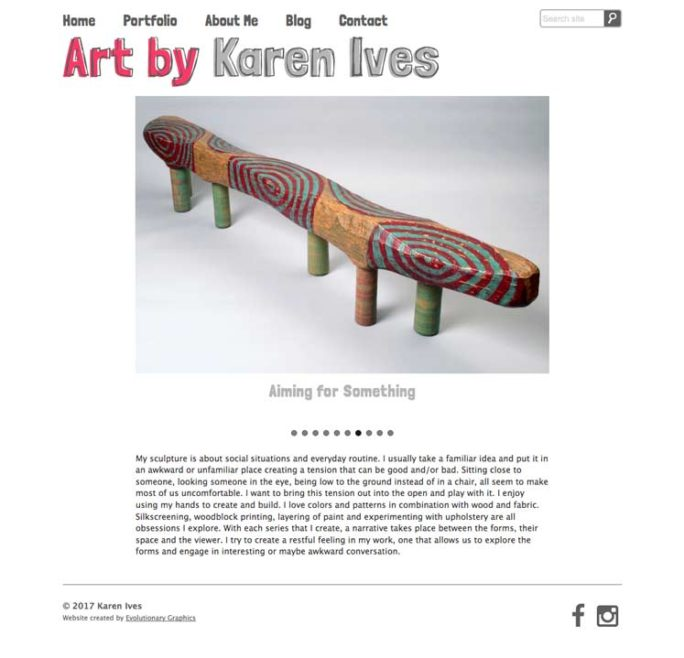 Karen Website Design Notebook