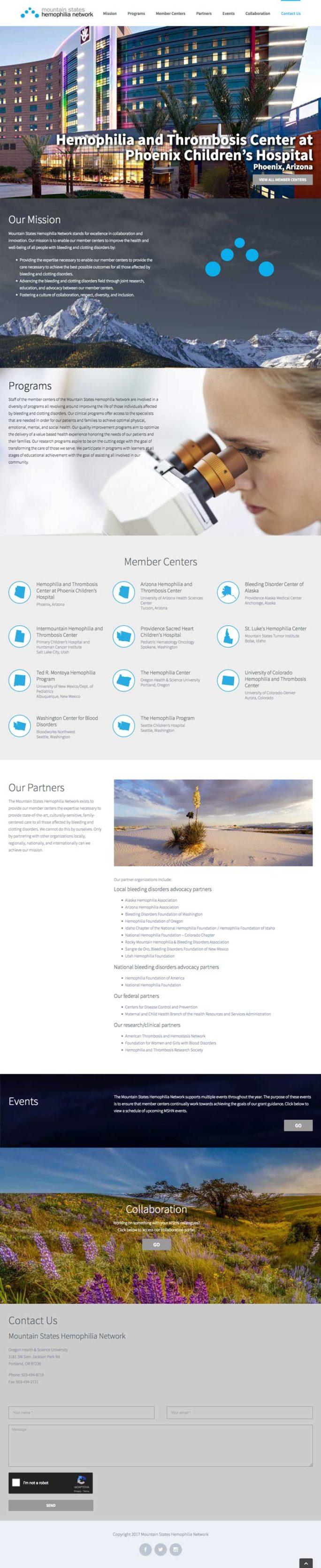 Mshn Website Design Notebook