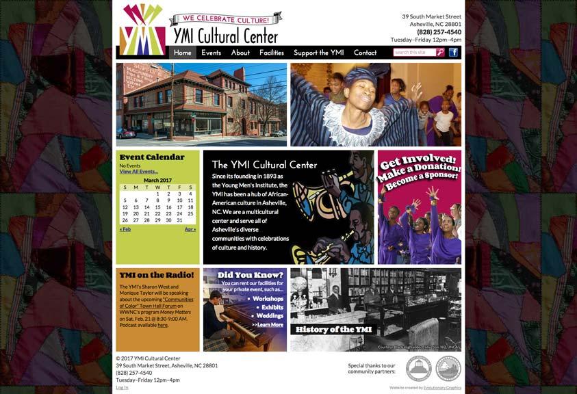 Ymi Website Design Desktop