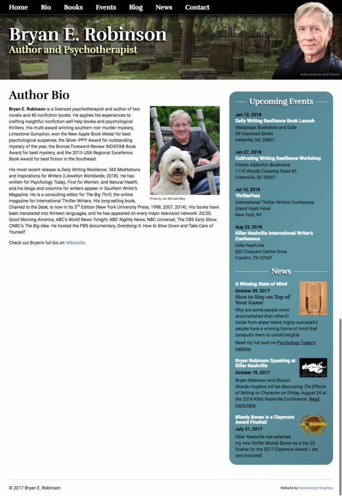 Asheville WordPress website designer