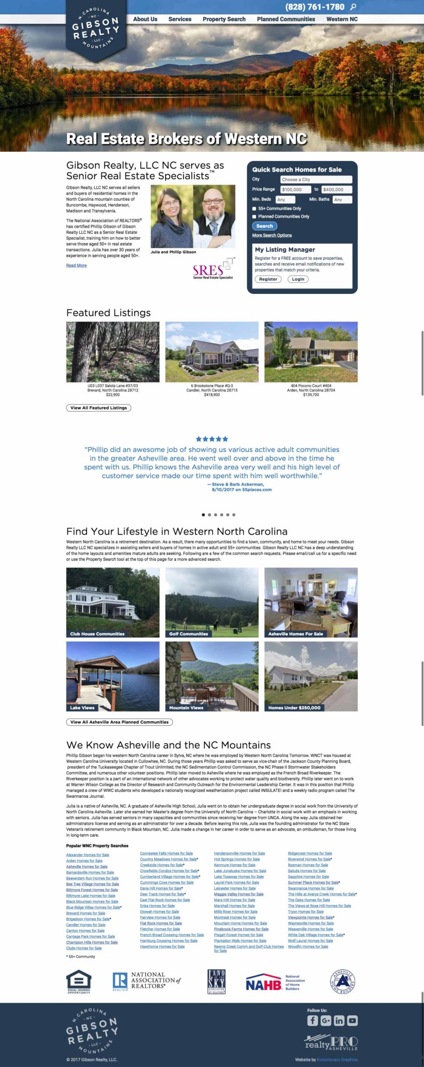 WordPress real estate website developer